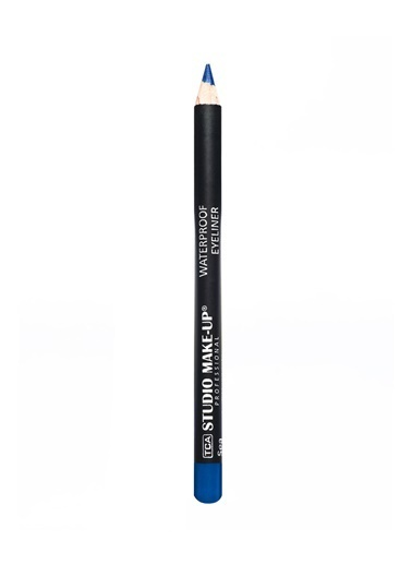 Tca Studio Make Up Waterproof Eyeliner - Medium Blue Mavi